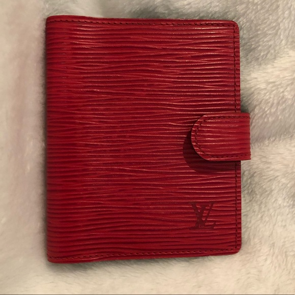 1d2a5593f0da Louis Vuitton Accessories - Louis Vuitton Epi Leather Card Holder in Red